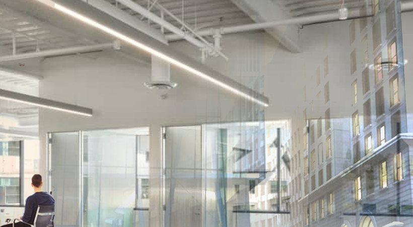 Improving lighting efficiency in buildings