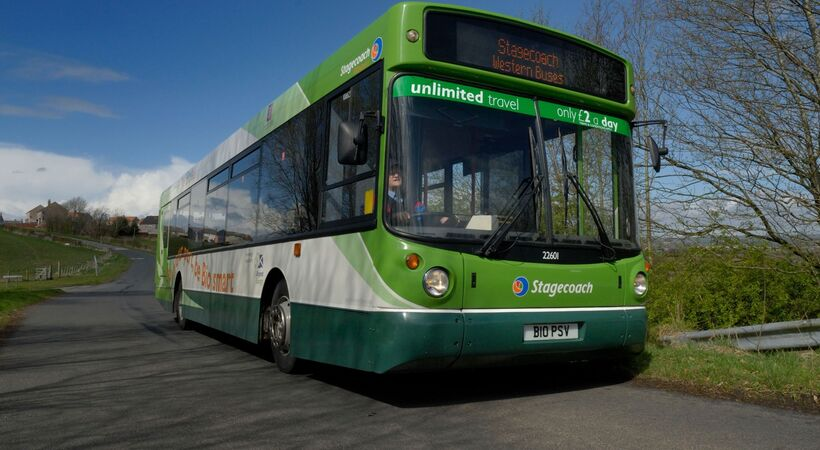 Stagecoach cuts gas consumption by 20% with wireless BEMS at bus depots