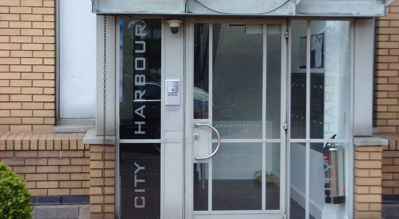 Video entry phone system secures apartments at City Harbour London