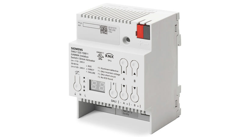 Siemens launches new KNX switch