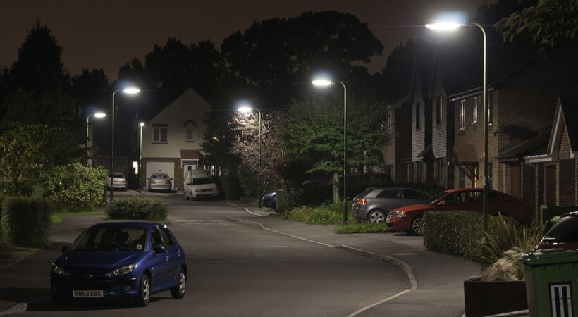 Smart lighting will help social distancing through UK streetlights