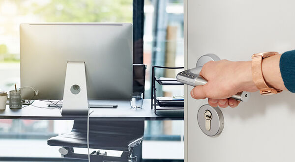 Entry-level access control? Add digital PIN locking to any interior door with this easy-to-install security handle