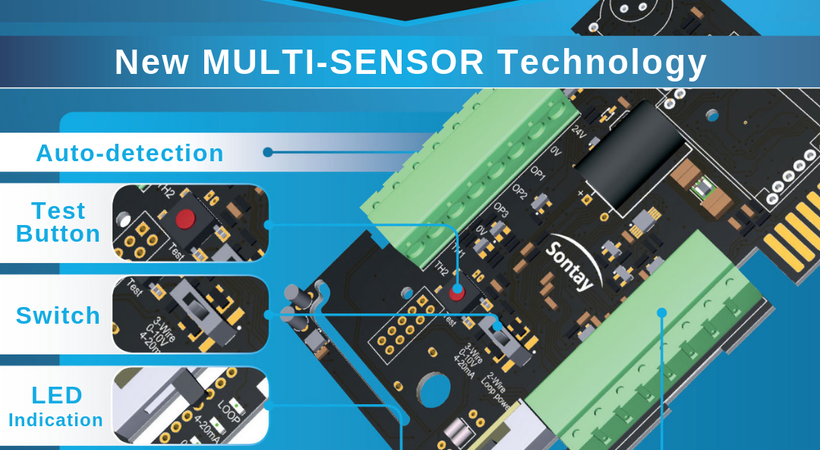 Sontay introduces new multi-sensor technology