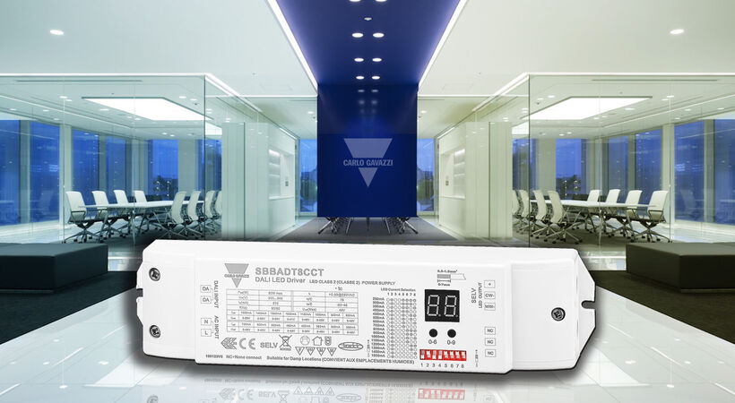 Carlo Gavazzi  launches new DALI driver