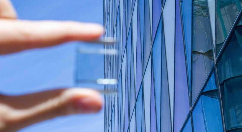 Smart solar windows can power building systems