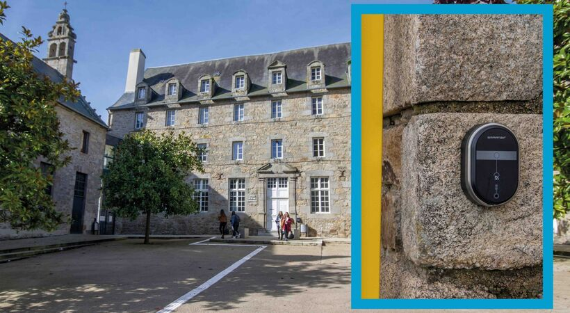 In France, SMARTair access control plays a key role in school safety planning