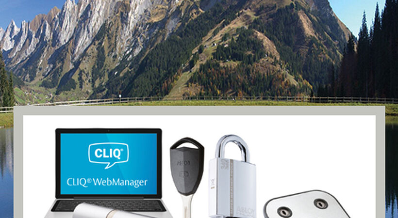 In the mountains of France, CLIQ key-based access control helps keep the clean water flowing
