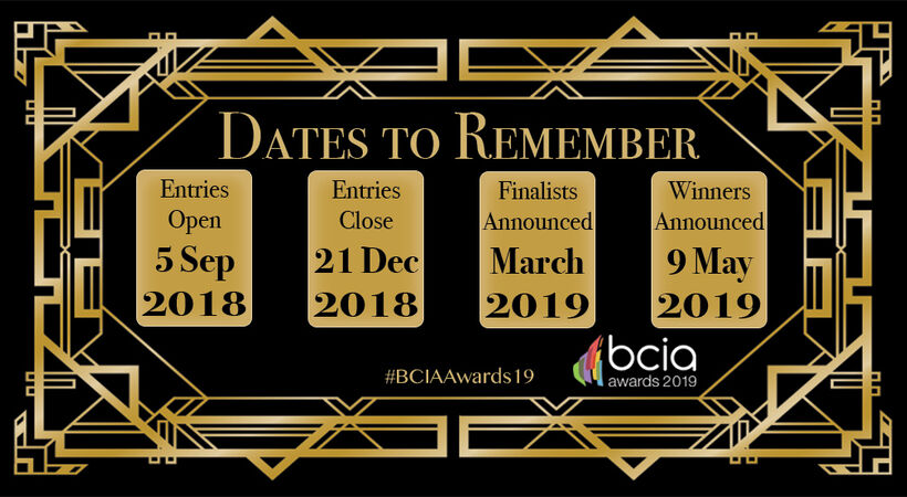 Be crowned the best at the 2019 BCIA Awards
