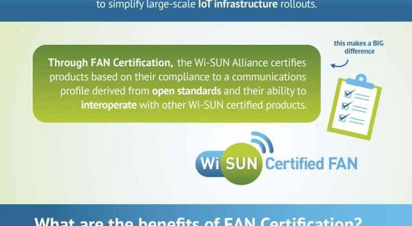 Wi-SUN Alliance accelerates implementation of Field Area Networks