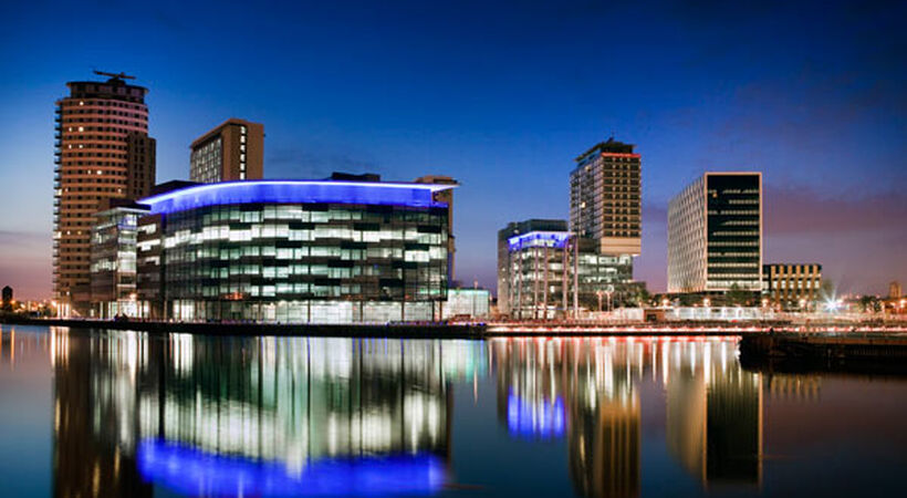 MediaCityUK buildings named best for connectivity in the North