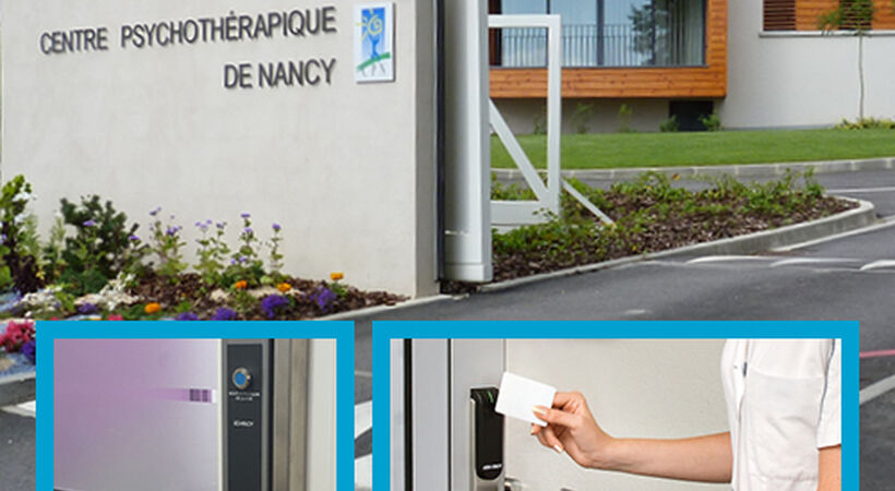 A leading mental health treatment centre in France puts its trust in Aperio wireless access control