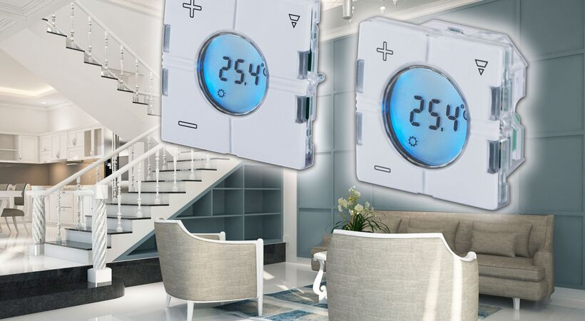 New temperature display for BMS integrators