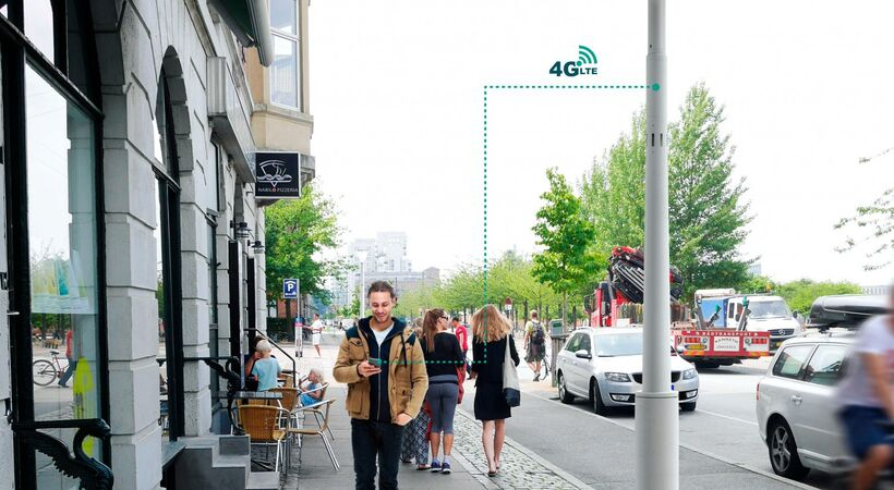 Philips and Ericsson jointly introduce new smart pole