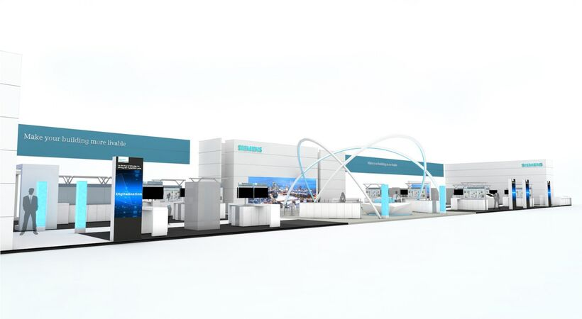Siemens on display