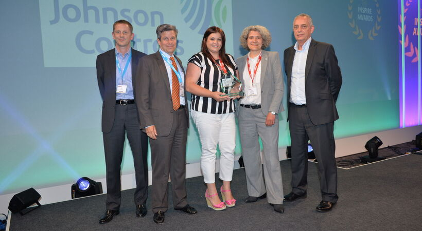 Johnson Controls wins e-learning award